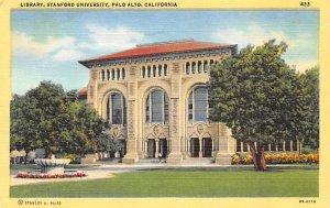 Library, Standford University Palo Alto CA