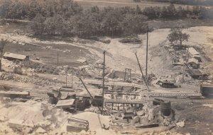 RP: VERNON , Vermont , 1906 ; Dam Construction 3/4