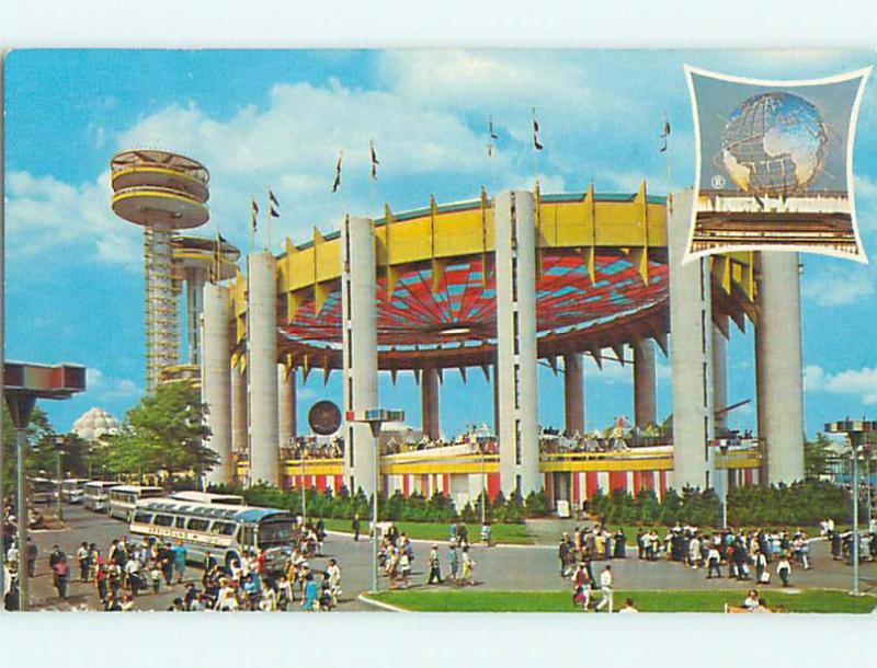 1965 Ny State Exhibit At World's Fair Queens New York NY Q3776