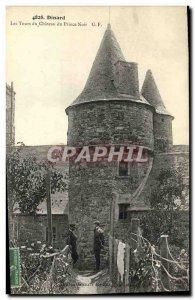 Old Postcard Dinard Les Tours du Chateau Black Prince