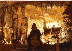 Spain Cuevas del Drach Porto Cristo Mallorca Monk and Cactus Monje y Cactus
