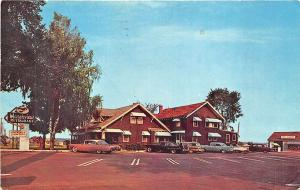 West Scarboro ME  Marshview Drive-in Restaurant Old Cars Postcard