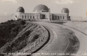 RP: The Planitarium - Griffith Park , LOS ANGELES , California , 1930-40s