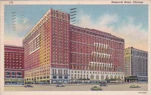 Illinois Chicago Bismarck Hotel 1952