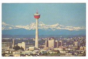 The 626' High Husky Tower, Calgary, Alberta, Canada, 40-60s
