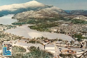Olympic Village,XIII Olympic Winter Games,Lake Placid,NY 1980