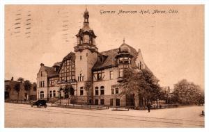 16014  OH Akron  German American Hall