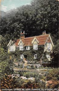 Isle of Wight, Shanklin, The Chine, Honeymoon Cottage 1910