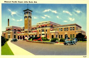 AR - Little Rock. Missouri Pacific RR Depot