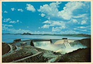 South Africa Oranjekrag Hendrik Verwoerd Dam Waterfall Barrage Postcard