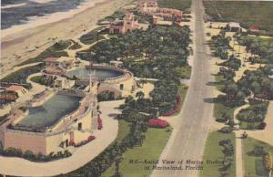 Florida Marineland Aerial View Of Marine Studios At Marineland