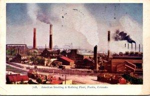 Colorado Pueblo American Smelting & Refining Plant 1906