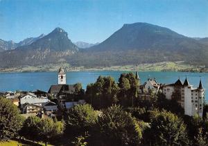 St Wolfgang am Wolfgangsee Salzkammergut Gesamtansicht