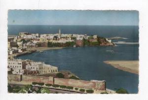 RP: Aerial View of City & Harbor,Rabat,Morocco 1965