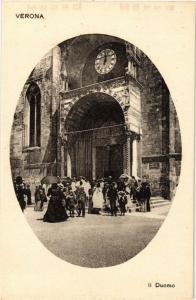 CPA VERONA Il Duomo . ITALY (448602)