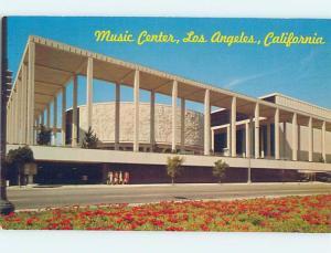 Unused Pre-1980 MUSIC CENTER Los Angeles California CA F9934
