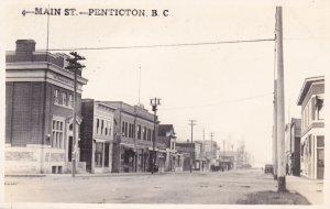 RP: PENTICTON , British Columbia. , Canada, 1900-10s; Main Street