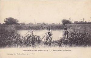 DAHOMEY . 1900-10s , Moyen Niger, Recherche d'un Passage
