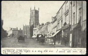 gloucs, CIRENCESTER, Market Place, Wilton Coffee House (1904)