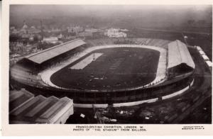 Franco-British Exhibition - Photo from Balloon of Stadium 1908