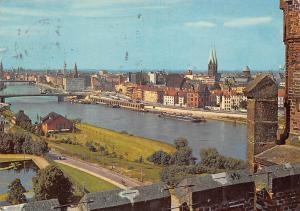 Bremen Gesamtansicht Bruecke Bridges River General view Ponts Panorama