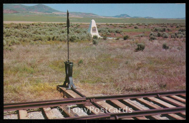 Golden Spike National HIstoric Site - Promontory Star Route