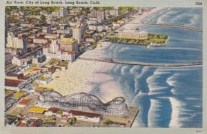 California Long Beach Aerial VIew