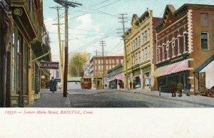 BRISTOL , Connecticut, 1901-07 ; Lower Main Street