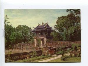 271687 VIETNAM HANOI Temple of literature old photo postcard
