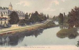 France Angouleme Vue pris du Pont de Saint Cybard