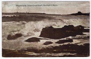 Rockport, Mass, Thatcher's Island and Surf