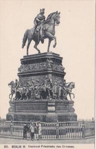 Germany Berlin Denkmal Friedrichs des Grossen