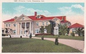 PASADENA, California , PU-1948 ; Palatial Home