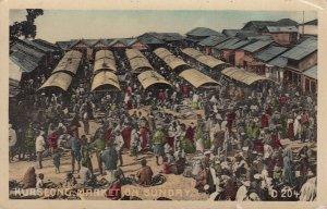 KURSEONG , India , 1900-10s ; Market on Sunday