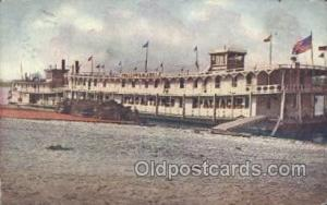Grand Floating Palace Ferry Boats, Ship, Ships, Postcard Post Cards  Grand Fl...