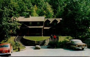 West Virginia Pocahontas County Watoga State Park Administration Building 1957