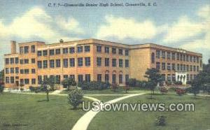 Greenville Senior High School -sc_zz_0090