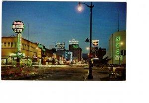 Vine Street, Hollywood, California, Music City, NBC etc.