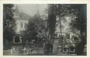 Slovakia Piešťany Piestany spa town Bad Pistyan Kursalon real photo postcard