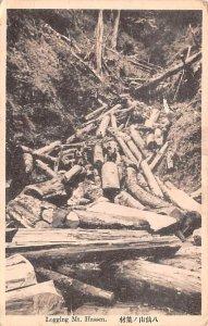 Logging Mt Hassen Japan Unused