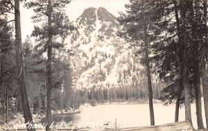 Anthony Lake Oregon Scenic View Real Photo Antique Postcard J69581