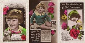 Wild Edwardian Green Fashion Real Photo Greeting Postcard s
