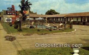 Bailey's Lakeview Motel, USA Motel Hotel Postcard Post Card Old Vintage Antiq...
