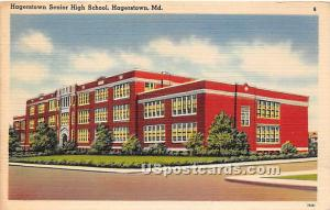 Hagerstown Senior High School Hagerstown MD Unused