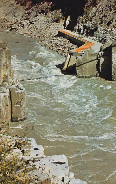 Hell's Gate Fishway, Fraser River, FRASER CANYON, British Columbia, Canada, 4...