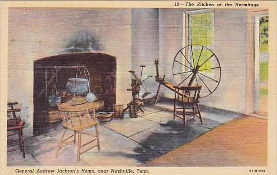 The Kitchen At The Hermitage General Andrew Jackson's Home Nashville Tennessee