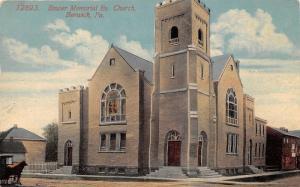 Berwick Pennsylvania~Bower Memorial Evangelical Church~Horse Buggy in Street~'16