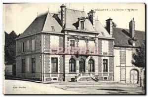 Old Postcard Bank Caisse d & # 39Epargne Sezanne