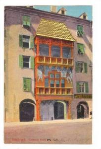 Gold roof,Goldenes Dachl, Innsbruck,Austria, 00-10s