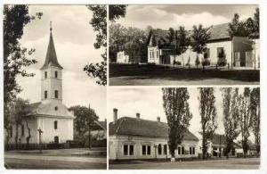 RP 3-view,Hungary, Churches, Kunagothai, PU 1924